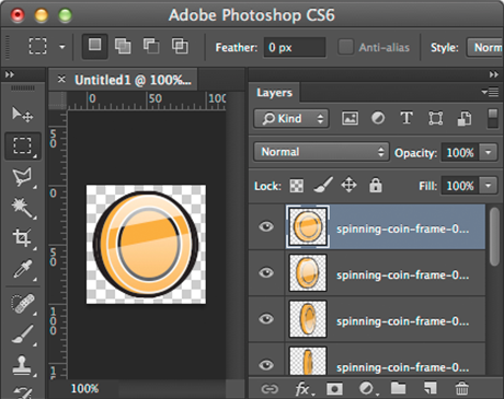 Create Html5 Animation Sprite Sheet In Photoshop William Malone